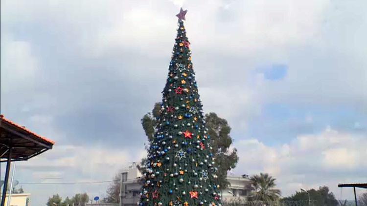 El Año Nuevo se acerca: ¿cómo lo celebrarán en la base militar rusa de Latakia? (Video)