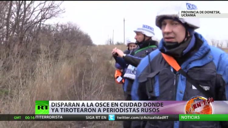 Misión de la OSCE, tiroteada en el este de Ucrania