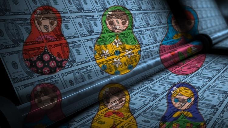 Infografía: Todo el dinero del mundo, en matrioshkas