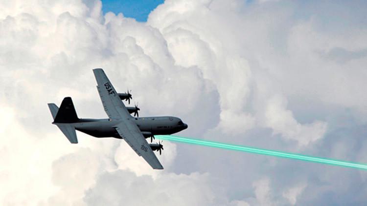 EE.UU. prepara una 'burbuja láser' para blindar a sus aviones militares