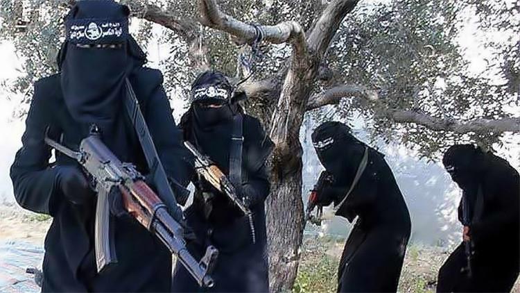 La 'Gestapo femenina' del Estado Islámico comete una nueva atrocidad