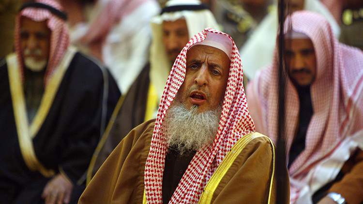 El gran muftí de Arabia Saudita Abdulaziz al Asheikh