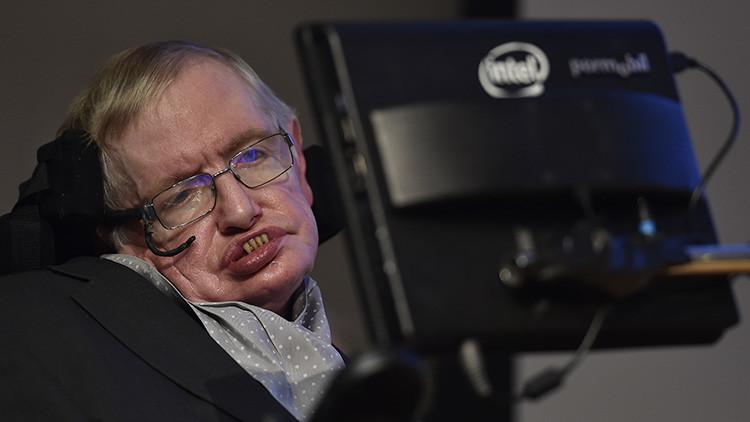 El astrofísico Stephen Hawking en un evento llamado Stephen Hawking Medal for Science Communication, en Londres, Reino Unido, el 16 de diciembre de 2015.