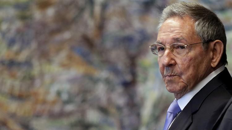 """Raúl Castro: """"Las sanciones contra Rusia crean más inseguridad"""""""