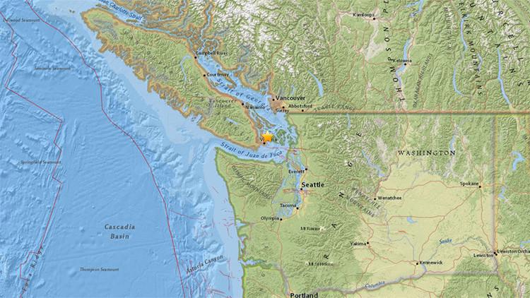 Un sismo de magnitud 4,8 que sacude Canadá se siente en EE.UU.