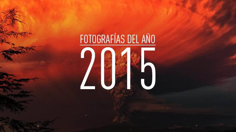 El humo y la ceniza generados por el volcán Calbuco, situado en el sur de Chile, se elevan al cielo durante la erupción registrada en abril de 2015