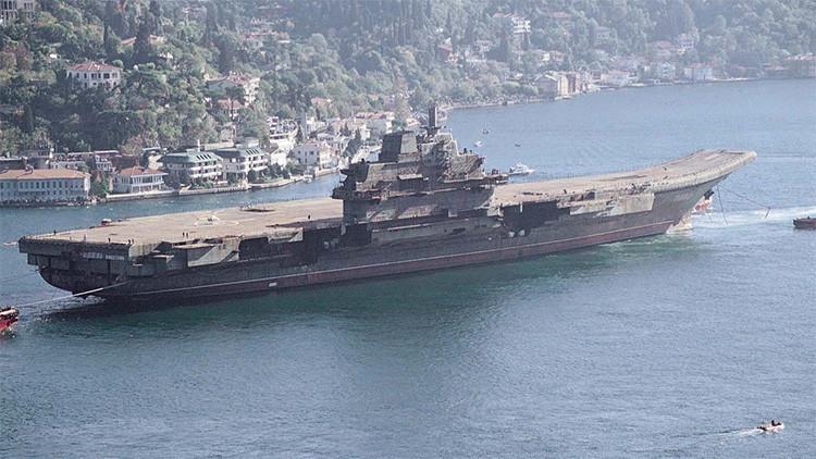 El primer portaaviones chino