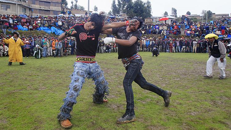 Dulce... y Dolorida Navidad: Takanakuy, la tradición peruana que se celebra a golpes (fotos)