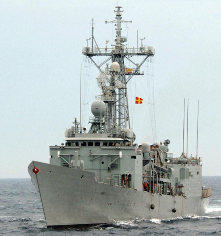 Fragata 'Santa María' (F-81), cabeza de su clase