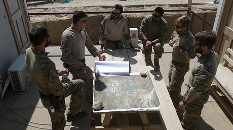Las fuerzas especiales de EE.UU. en Afganistán