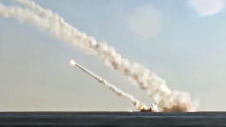 Captura de pantalla del video de YouTube del Ministerio de Defensa de Rusia.