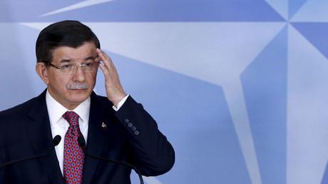 El primer ministro turco, Ahmet Davutoglu