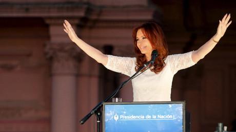 Discurso de Cristina Fernández de Kirchner en la plaza de Mayo