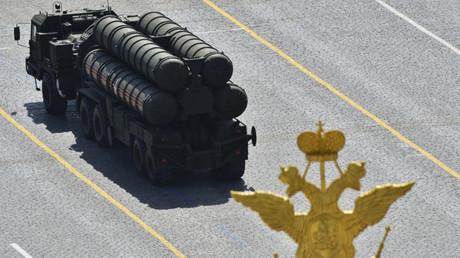 El sistema antiaéreo ruso S-400 Triumf