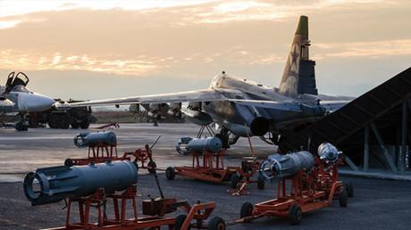 Base aérea de Jmeimim en Siria