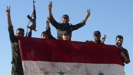 Imagen ilustrativa: soldados sirios