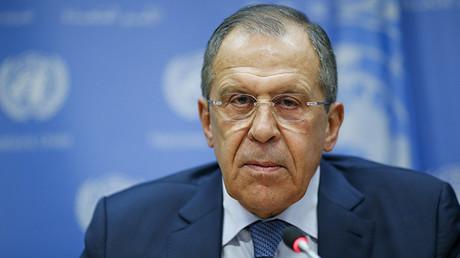 El canciller ruso Serguéi Lavrov