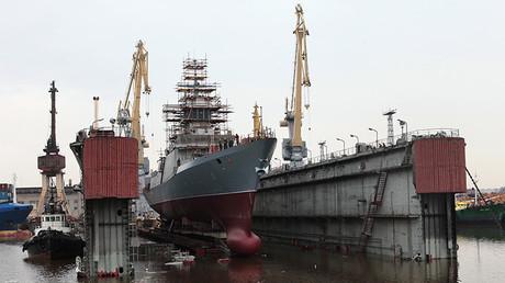 Astilleros rusos Severnaya Verf, de San Petersburgo, botan la cabeza de serie de la corbeta del proyecto 20380