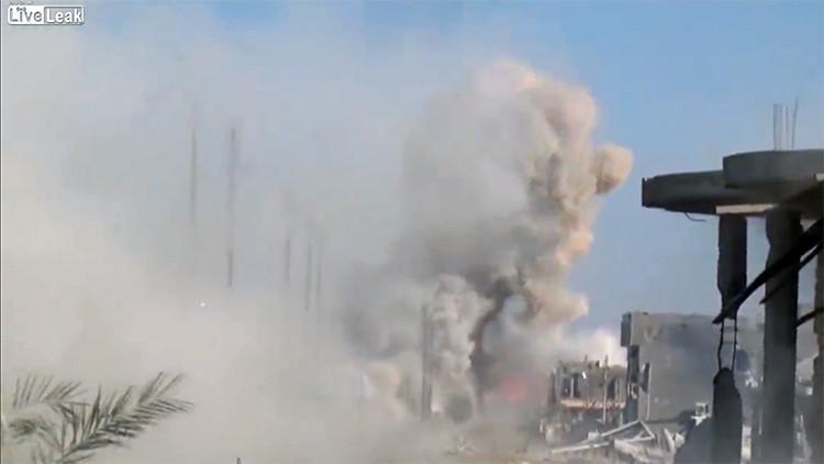 Video: Ejército iraquí destruye un vehículo kamikaze del EI antes de que alcance su objetivo
