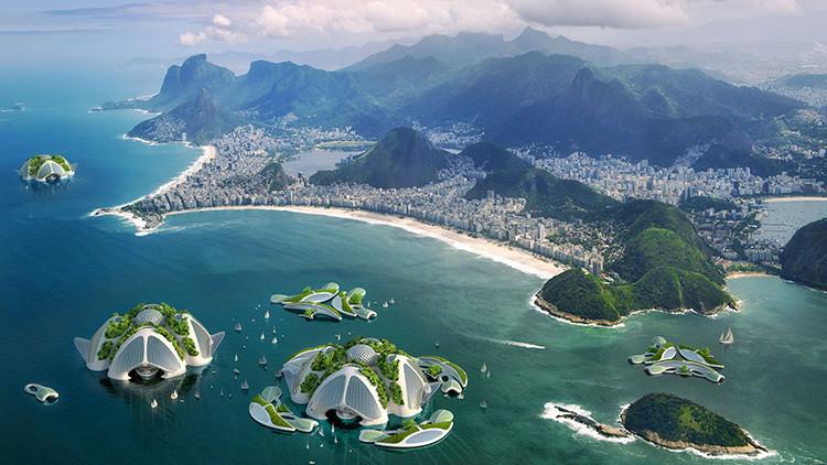 'Palacios en el océano': ¿Cómo serán las ciudades ecológicas del futuro?