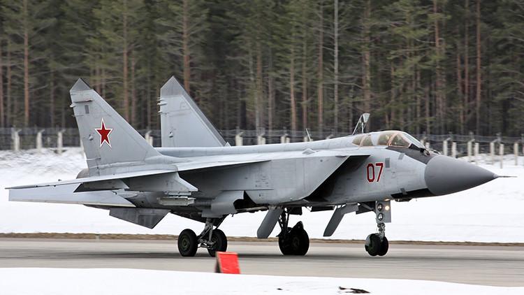 Rusia 'da alas' a una nueva generación de defensores a partir del mítico caza MiG-31