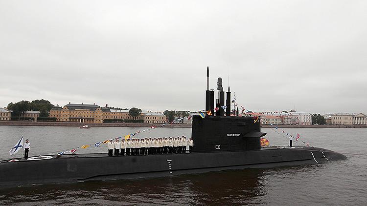 Como una sombra: El nuevo submarino ruso es aún más sigiloso que el 'Agujero Negro'