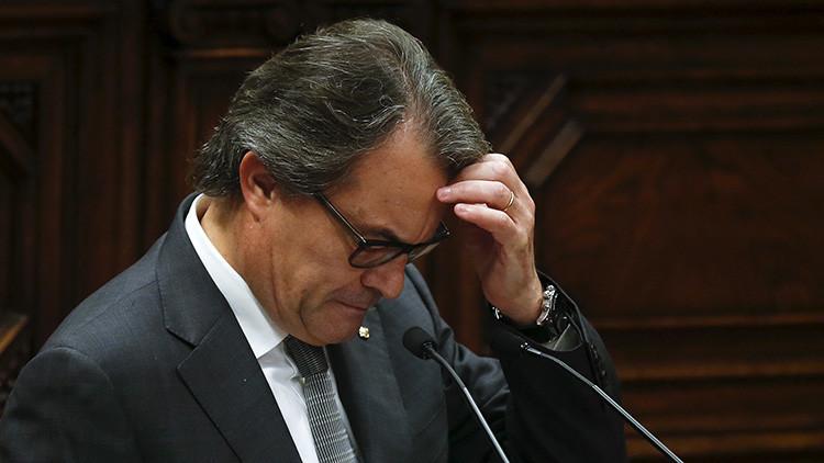 Cataluña: La CUP se pronuncia contra la investidura de Artur Mas como presidente de la Generalitat