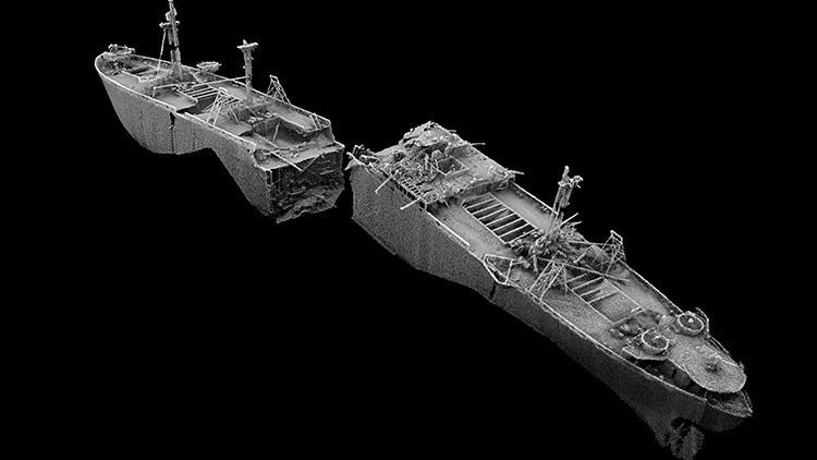 Foto: El 'barco del fin de mundo', que podría causar la mayor explosión no nuclear en el mundo