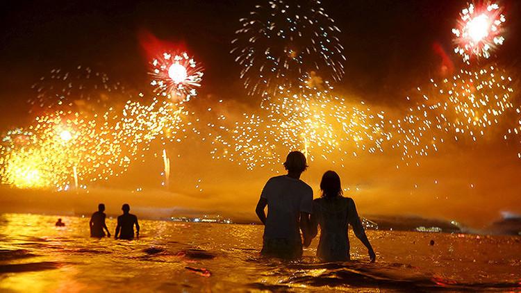Recibimiento mundial al 2016 y otras fotos impactantes de la semana