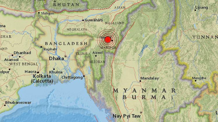Video: Televisión india fue testigo de fuerte terremoto en directo