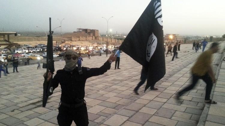 Un militante del Estado Islámico
