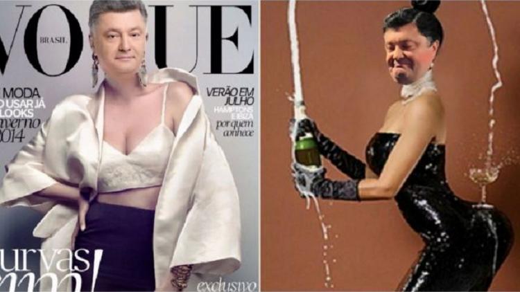 Poroshenko desata una oleada de memes por su falsa portada de 'The Economist'