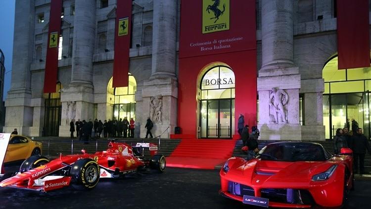 Ferrari se estrella en su debut en la Bolsa de Milán