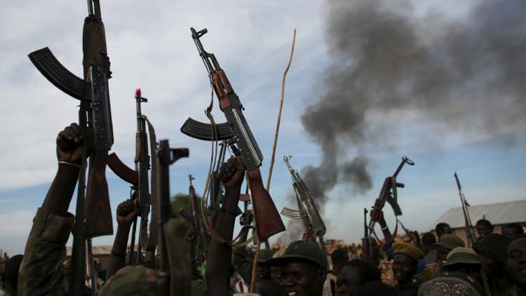 Los rebeldes de Sudán del Sur