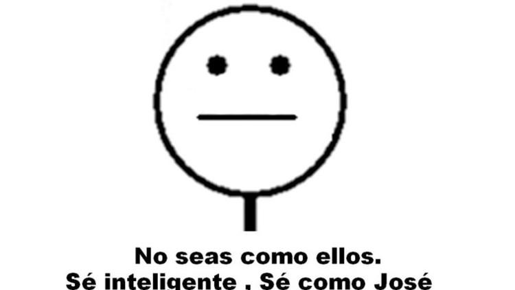 """""""Sé inteligente, sé como José"""": un sencillo meme nos invita a cambiar de actitud en Internet"""