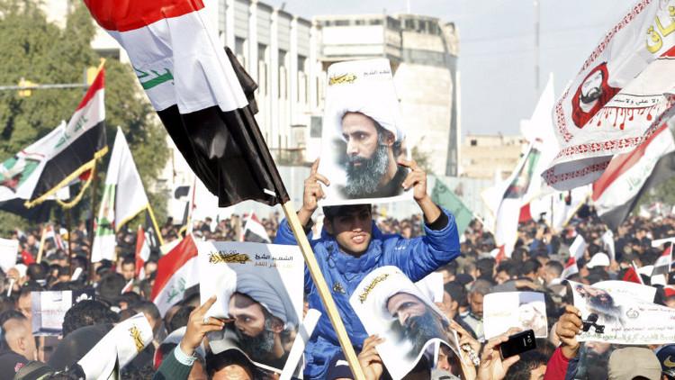 Video: Miles de iraquíes protestan tras la ejecución de un líder chiita en Arabia Saudita