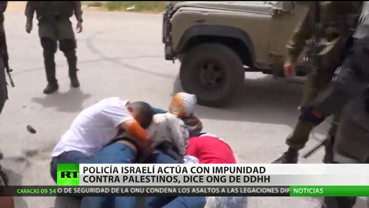 La policía israelí actúa con impunidad contra palestinos