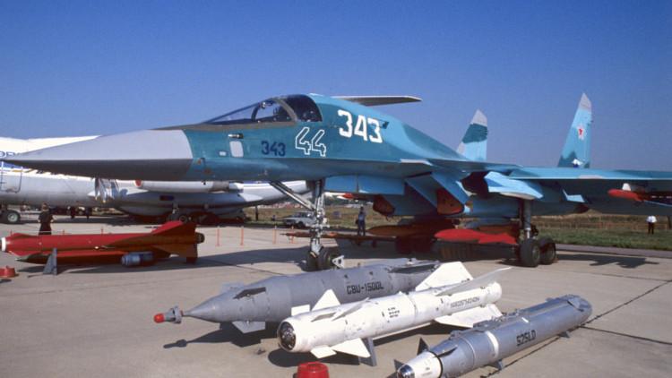 Vaticinan una gran demanda de aviones rusos Sukhoi Su-34 por su papel en Siria