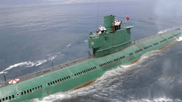 Corea del Norte probó un misil balístico submarino