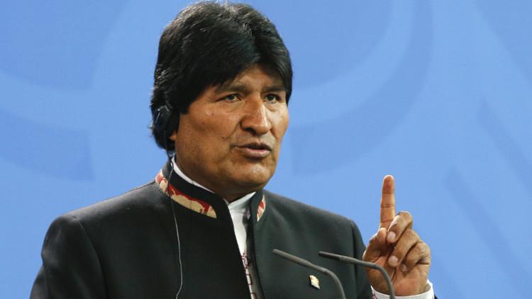 Evo Morales llama a luchar contra los modelos que dañan el mundo