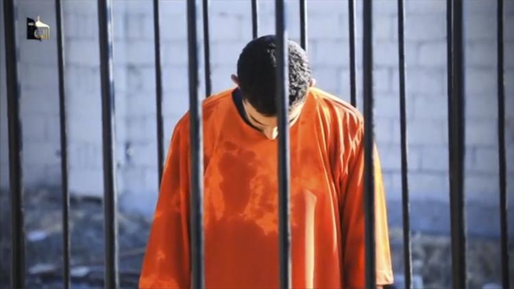 Muath al-Kasaesbeh, piloto jordano condenado a muerte por el EI