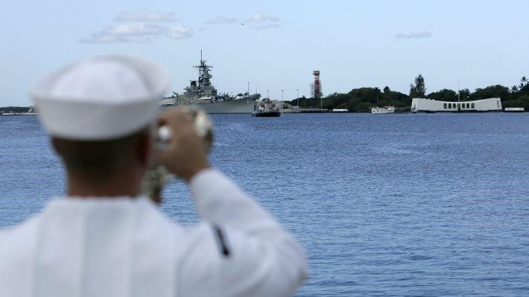 Un marinero de la Armada de EE.UU.