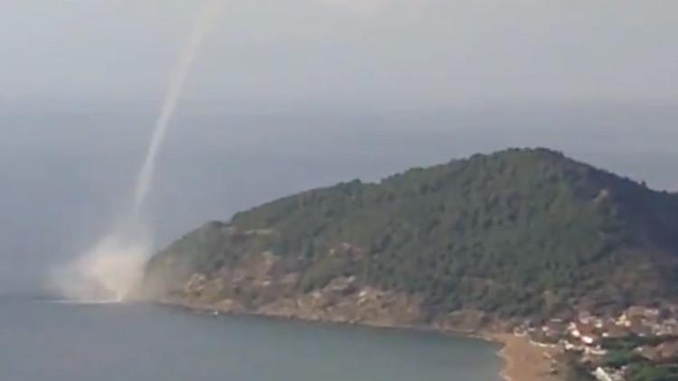 Video: Una tromba de agua en Italia se vuelve viral
