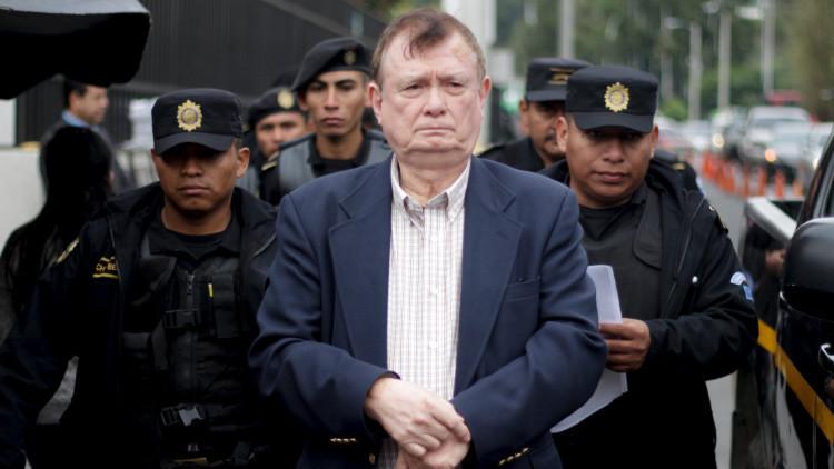Arrestan en Guatemala a 14 exfuncionarios por asesinatos cometidos durante la guerra civil