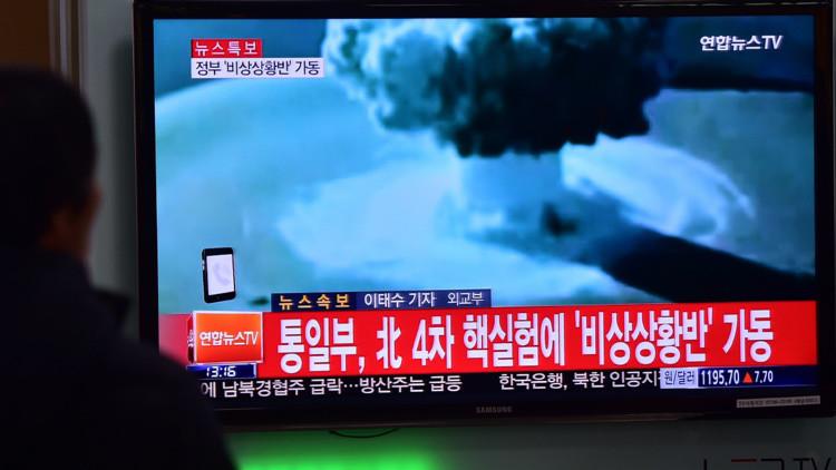 """Pionyang: """"La prueba de la bomba nuclear es una advertencia seria a EE.UU."""""""