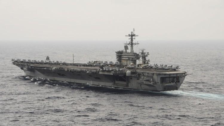 Portaaviones USS Theodore Roosevelt de la Armada estadounidense