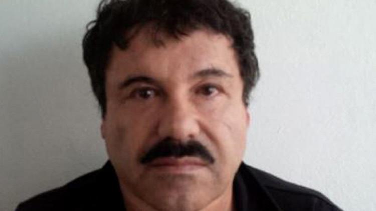 Publican la primera foto del traslado del Chapo Guzmán