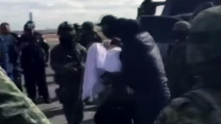 PRIMER VIDEO: Traslado de 'El Chapo' Guzmán a ciudad de México