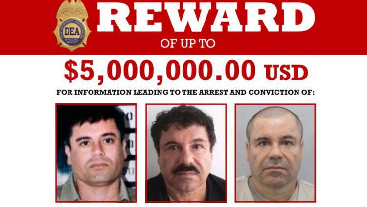 EE.UU. prevé pedir al Gobierno de Peña Nieto que extradite a 'El Chapo'