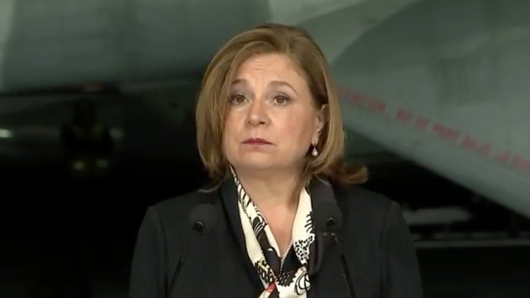 La procuradora general de la República, Arely Gómez González